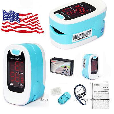 Medical Digital Pulse Oximeter Led Oximetro Blood Oxygen Heart Rate Monitorfda