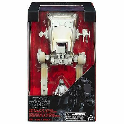 "Star Wars Black Series AT-ST SCOUT WALKER & 3.75"" DRIVER ACTION FIGURE at st"
