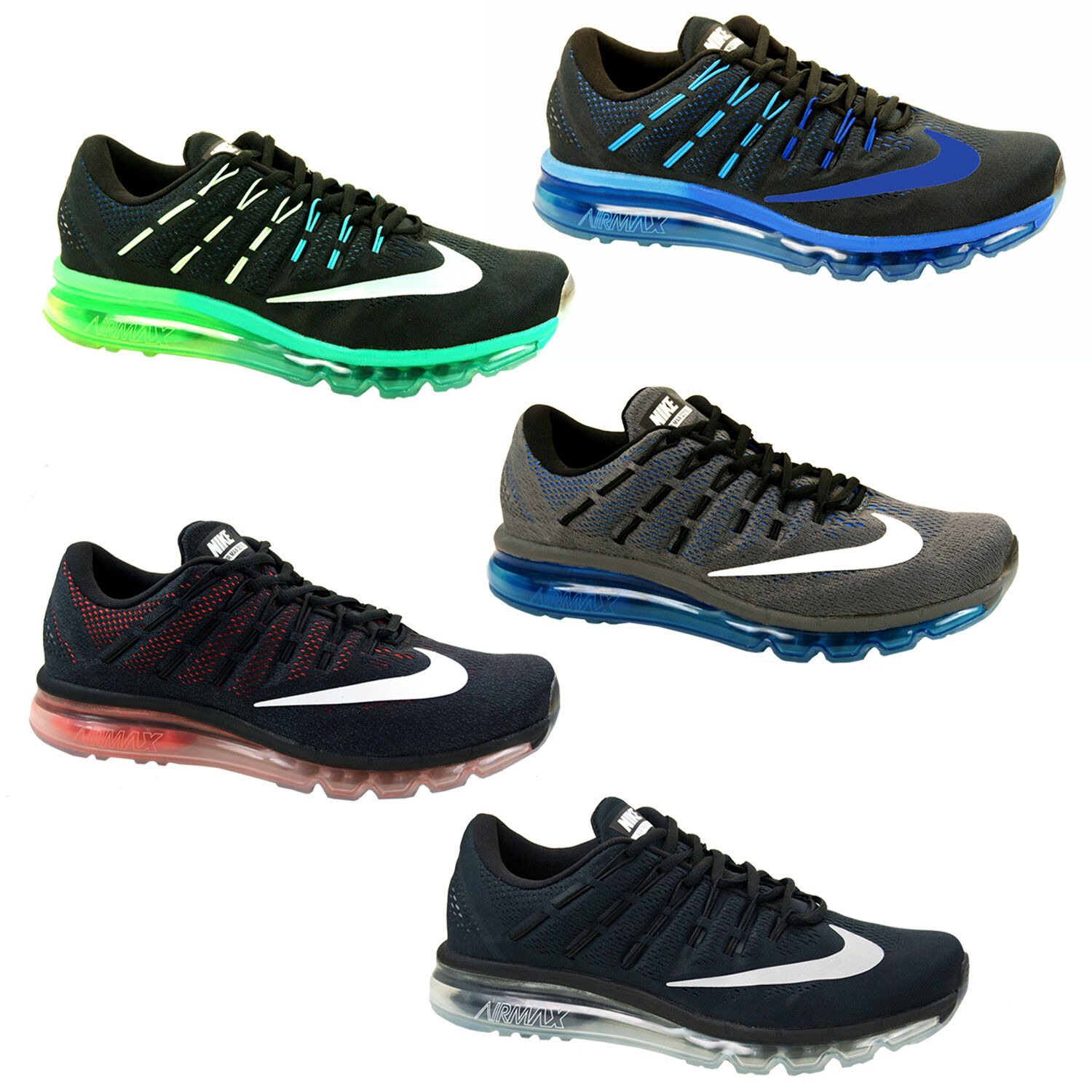 Nike Air Max 2016 Trainer Running Shoes Sneakers Sports Shoes Mens 806771
