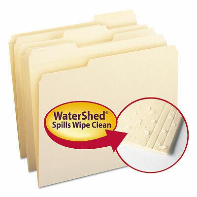Smead Watershed File Folders 13 Cut Top Tab Letter Manila 100box 10314