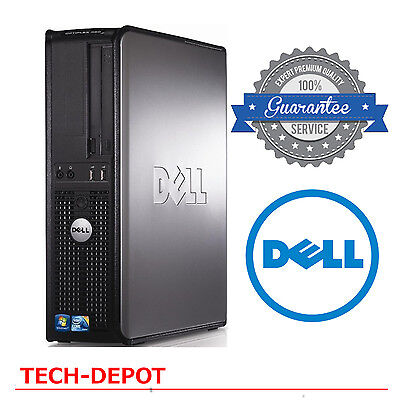 Dell Desktop Computer Pc Core 2 Duo 3 0Ghz 4Gb Ram 1Tb Dvdrw Windows 10