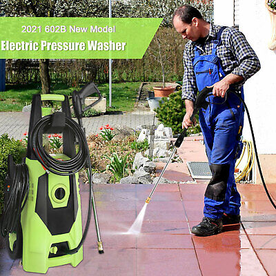 3000 Psi 1.8gpm Home Electric Pressure Washer Powerful Water Cleaner Machine Kit