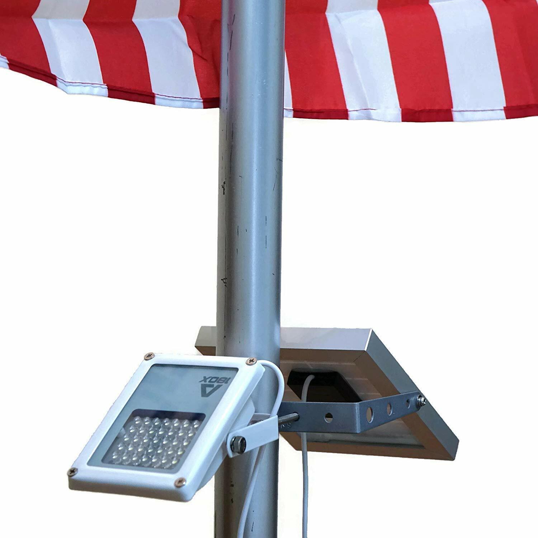 ALPHA 180X Flag Pole Light  for Solar Flagpole Lighting/Cast