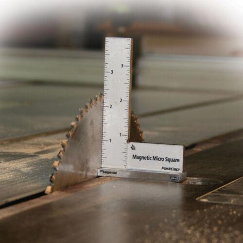 FastCap Precision Machinist Style Magnetic Micro Square MAG MICRO SQUARE