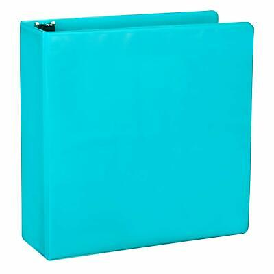 Fashion Color Durable 3 Ring View Binders 2 Inch Round Ring