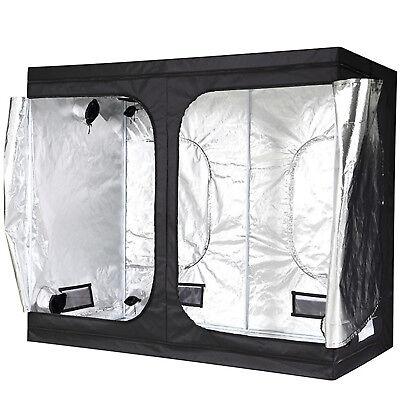 """iPower 96""""x48""""x78"""" Hydroponic Water-Resistant Mylar Indoor Grow Tent"""