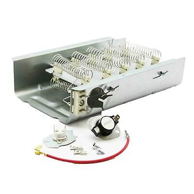Dryer Thermostat Heating Element for Whirlpool LER3624EQ1 LER4364PQ1 LER8620PW0