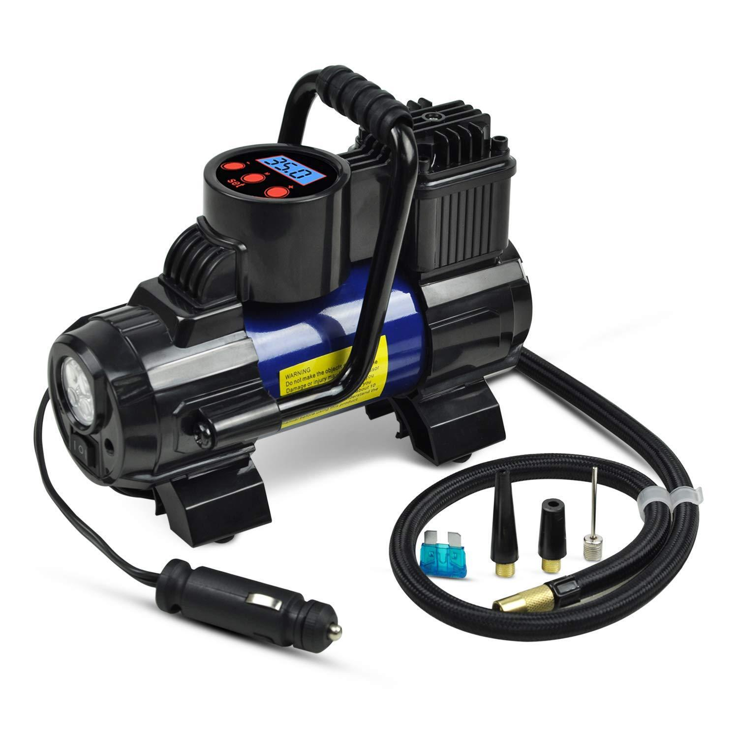 Owner Heavy Duty 12V Portable 150PSI Car Tyre Auto Tire Inflator Pump Air Compressor