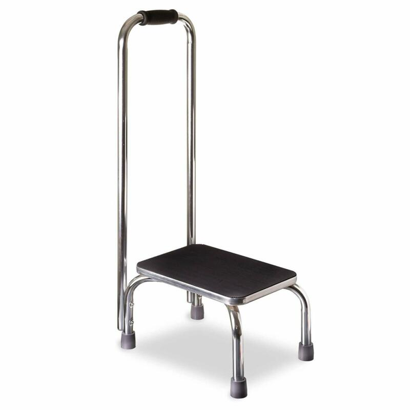 DMI Step Stool with Handle for Adults and Seniors,for High Beds, 300 lb Weight