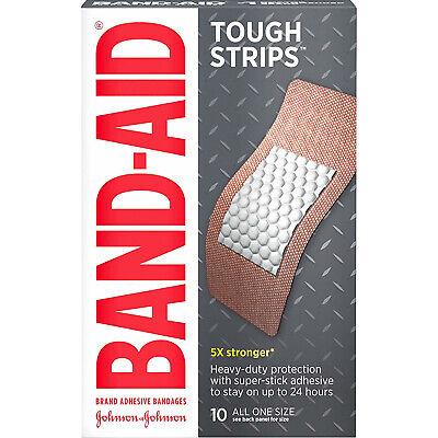 Bandages Extra Large Tough Strips - BAND-AID Bandages Tough-Strips Extra Large All One Size 10 Each