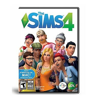 Brand New Sealed The Sims 4  Win Dvd Rom Software  Mac Digital Download  Pc Game