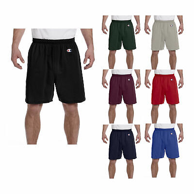 Champion 8187 Cotton Men's Gym Shorts for Workout Sports Bas