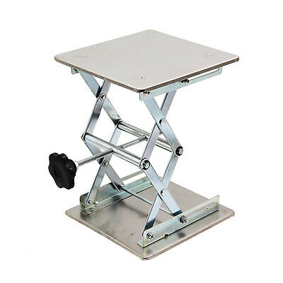 Hfs Plate 8x8 Overall Height 10 Lab Jack Scissor Stand Platform 15kg33lbs