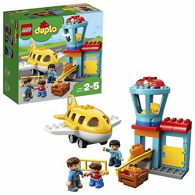 LEGO DUPLO My Town Airport Building Set with Airplane 10871