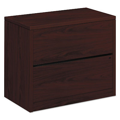 HON 10500 Series Two-Drawer Lateral File 36w x 20d x 29-1/2h Mahogany (Hon 10500 Series 2 Drawer)
