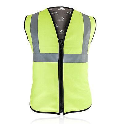 Cooling vest for humans  Enduracool Multi-Safety Cooling Vest  Hi-Viz Lime