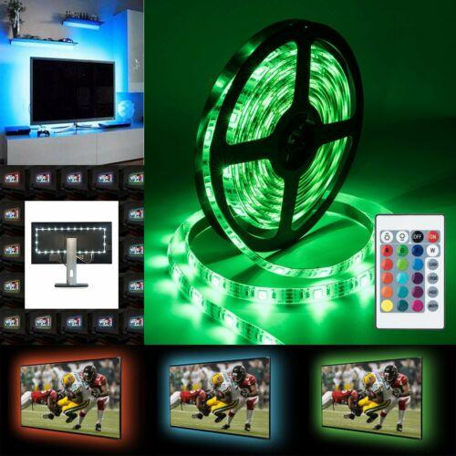 LED Strip Light 2*2M USB TV Back Lighting 5050 RGB Color Cha