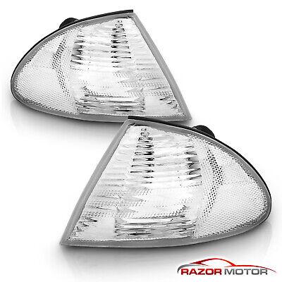 1999-2001 BMW E46 325i/325xi/330i/330xi/323i/328i/M3 4DR Corner Lights Lamps