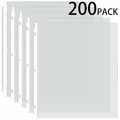sheet protectors 8 5 x 11 clear