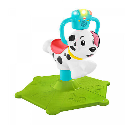 Fisher-Price Bounce And Spin Interactive Puppy With Lights A