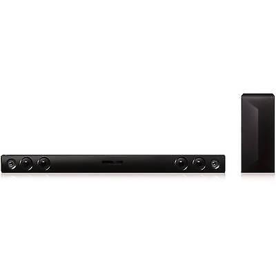 LG LAS465  2.1 Channel 300W Soundbar  W/ Wireless Subwoofer  and Bluetooth