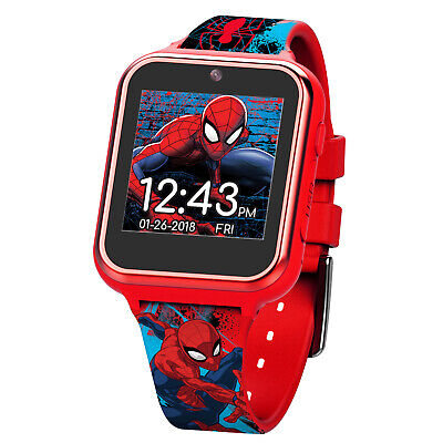 Spiderman iTime Smart Kids Watch 40 MM Smartwatch Boys Children's Toddler Design