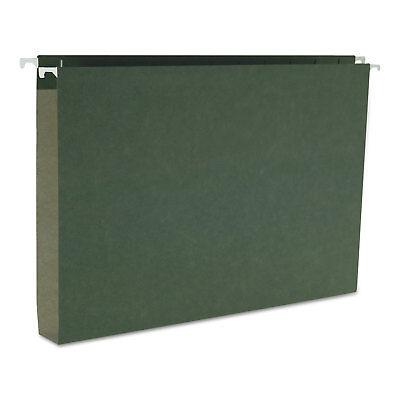 Smead One Inch Capacity Box Bottom Hanging File Folders Legal Green 25box 64339