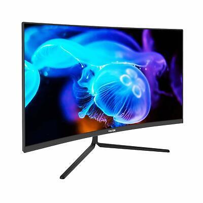 VIOTEK NBV27CB 27-Inch Curved Monitor 75Hz 1920x1080p 16:9 Widescreen Low-Bezel