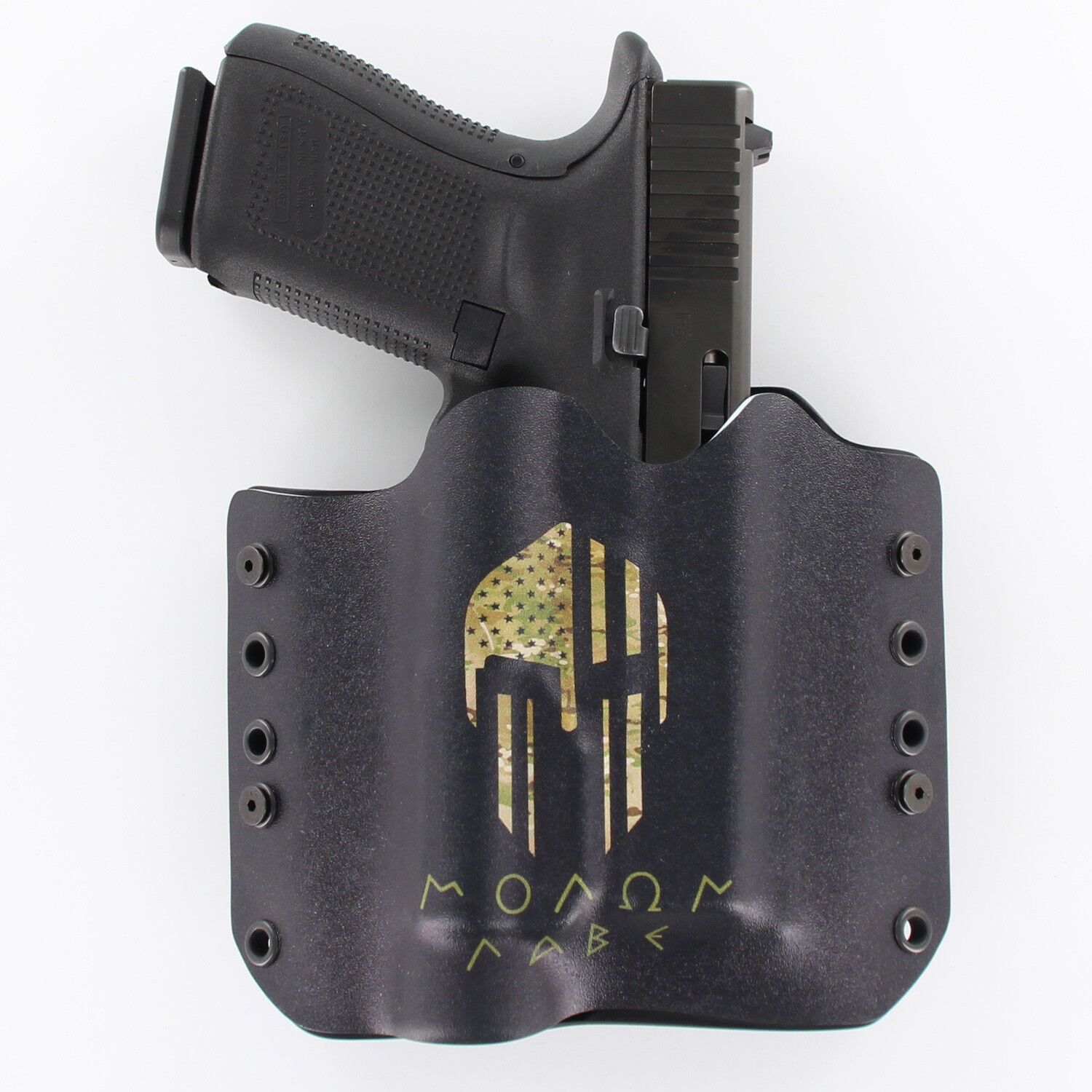 Ruger OWB Kydex Gun Holsters Molan Labe Camo