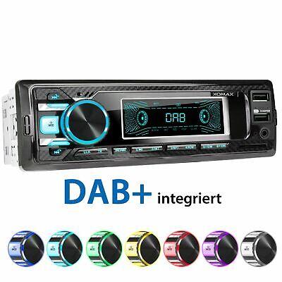 DAB+ AUTORADIO RDS BLUETOOTH FREISPRECHEINRICHTUNG 2xUSB SD AUX-IN MP3 ID3