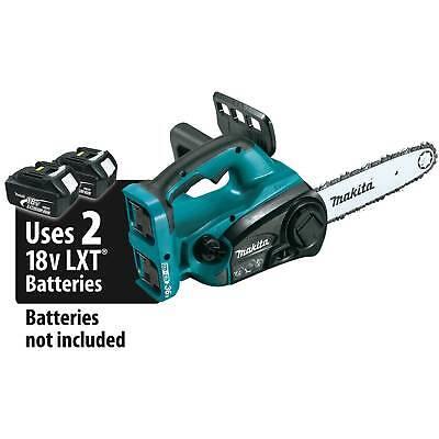 "MAKITA XCU02Z 18V X2  LXT Li-Ion Cordless 12"" Chain Saw TOOL"