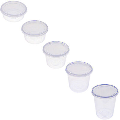 16 Ounce Plastic Lid - 8oz 12oz 16oz 24oz 32oz Round Plastic Deli Food Containers with Lids FREE SHIP