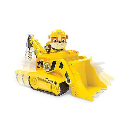 Nickelodeon  Paw Patrol   Rubble S Digg N Bulldozer  Vehicle And Figure   New  F