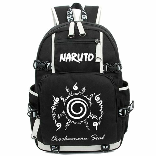 Large Capacity Luminous Anime Naruto Pattern Backpack School Bag Cosplay Z-HYSB