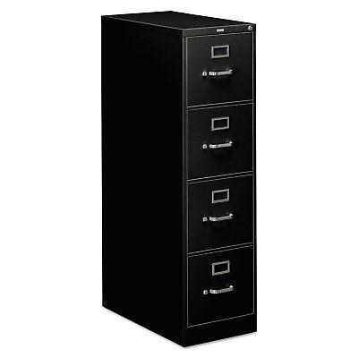 Hon 310 Series Four-drawer Full-suspension File Letter 26-12d Black 314pp