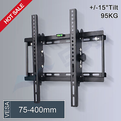 Tilt TV Wall Bracket Mount 32 37 40 42 46 48 50 55 inch Plasma LED LCD LG SONY