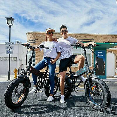 """E-BIKE 500W Elektrofahrrad 20""""Fatbike snowbike power bikes Pedelec.Ebike damen#1"""