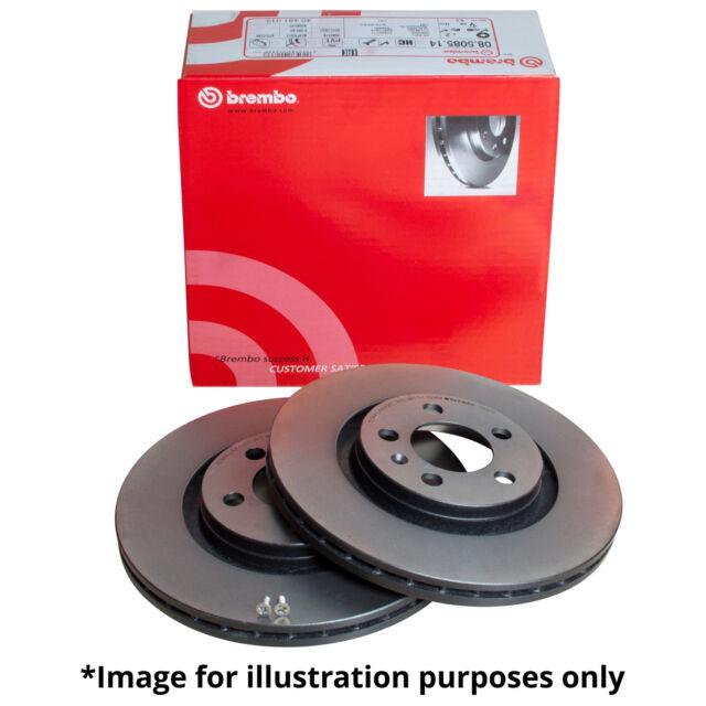 GENUINE BREMBO INTERNALLY VENTED REAR AXLE BRAKE DISCS 09.A200.11 - Ø 310 mm
