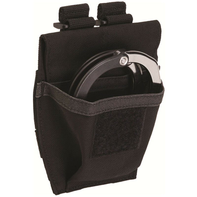 5.11 Tactical Black Nylon VTAC Handcuff Case Prym Snaps & Velcro Closure - 58721