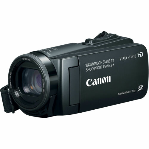 Canon Vixia HF W10 Waterproof Shockproof Video Camera Camcorder *HFW10
