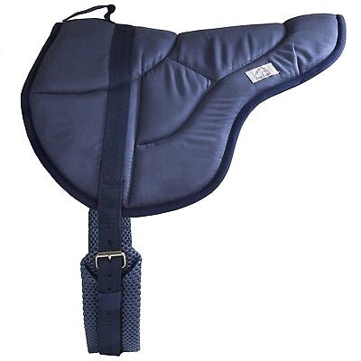 - Best Friend English Bareback Riding Pad NEW Pony Size Breathable Synthetic Suede