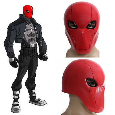 Red Hood Mask Batman Cosplay Costume Prop Helmet Halloween Adult Xcoser FOR SALE - Batman Mask For Adults