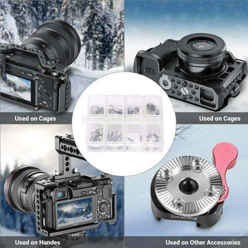 SmallRig Camera Screws 26 Pcs Tripod Screw Adapter Pack 1/4 3/8 M2 M2.5 M3 M4 - $11.90