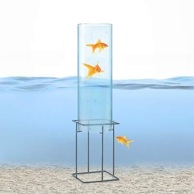 Pond Fish Tower Clear View Pool Ø 20 cm Acrylic Glass Weatherproof Safe Decor