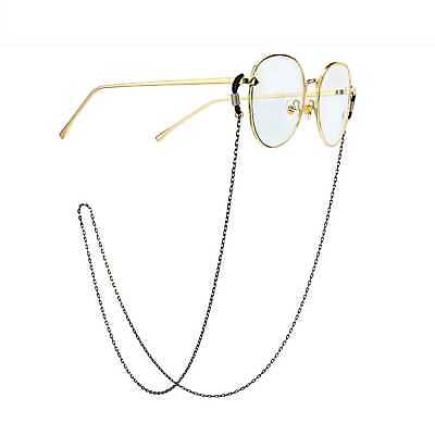 Metal Necklace Spectacles Holder Sunglasses Glasses Chain Cord Lanyard (Luxury Sunglasses Holder)