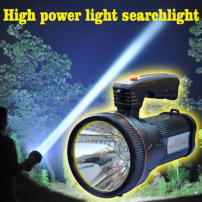 Odear Bright Spotlight Handheld Portable Searchlight LED Rechargeable Flashlight