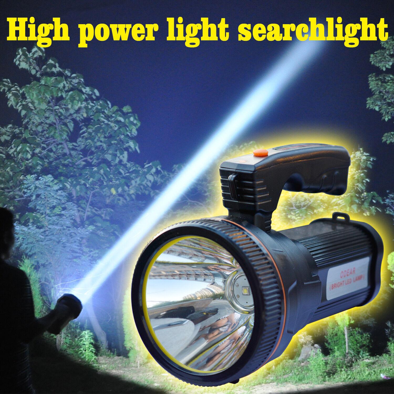 Odear Bright Spotlight Handheld Portable Searchlight LED Rec