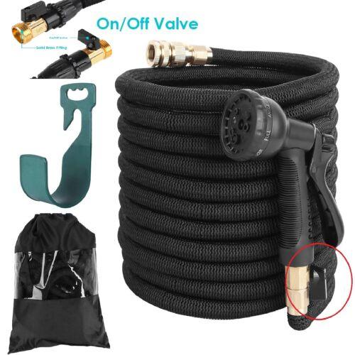 Premium Gartenschlauch Flexibler Wasserschlauch dehnbarer Flexischlauch 15-30M