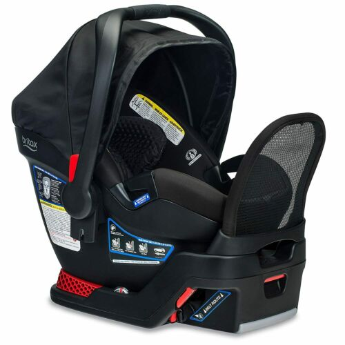 Britax Endeavours Infant Car Seat in Midnight With Anti Rebound Bar VVV 992