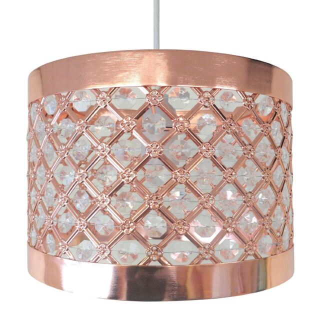 Easy Fit Modern Copper Lighting Ceiling Pendant Shade Light Fitting Decoration